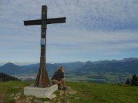 Gipfelkreuz Rangiswanger Horn