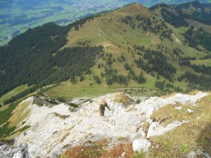 Geröllfeld am Entschenkopf