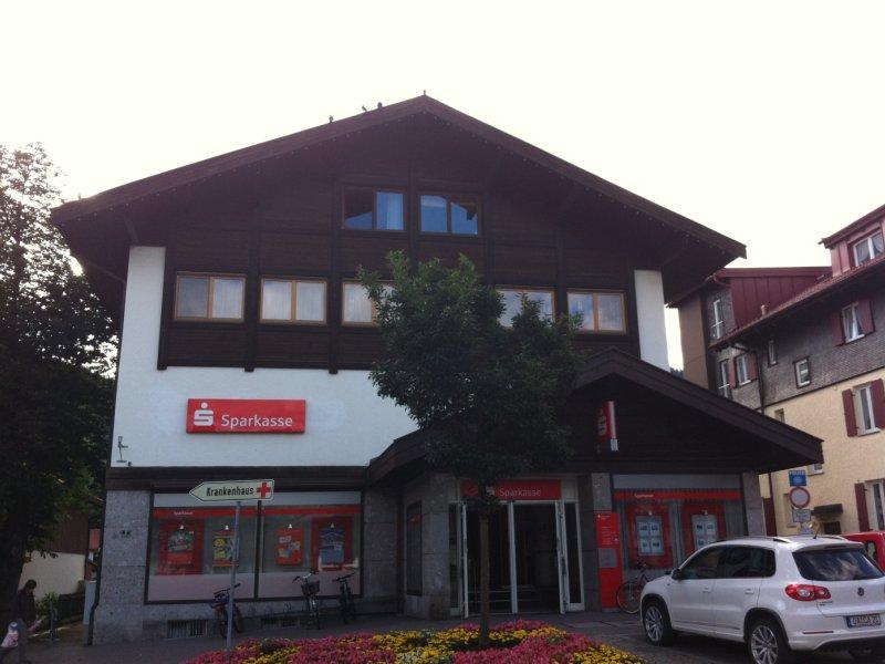 Sparkassen Filiale Oberstdorf