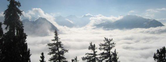 Winterstimmung in den Bergen