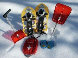 Schneeschuh+Schaufel+LVS