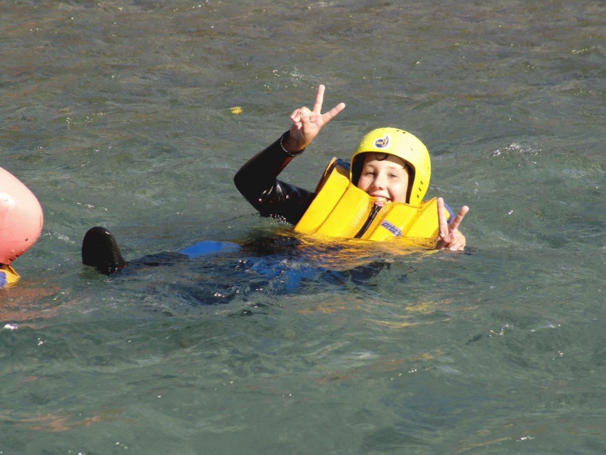 Strömungsschwimmen