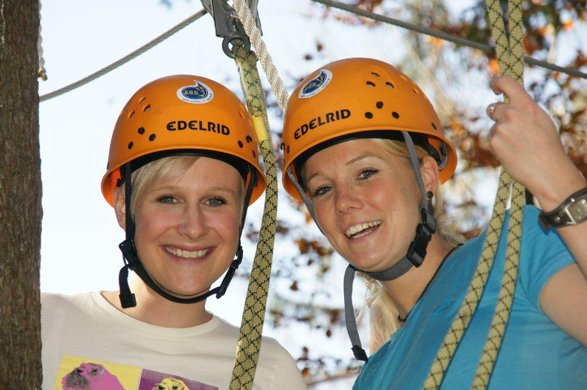 Klettergurt Für Hochseilgarten : Adventure parcours hochseilgarten im allgäu mit spirits of nature