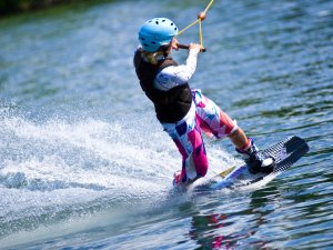 Wakeboarden am Inselsee
