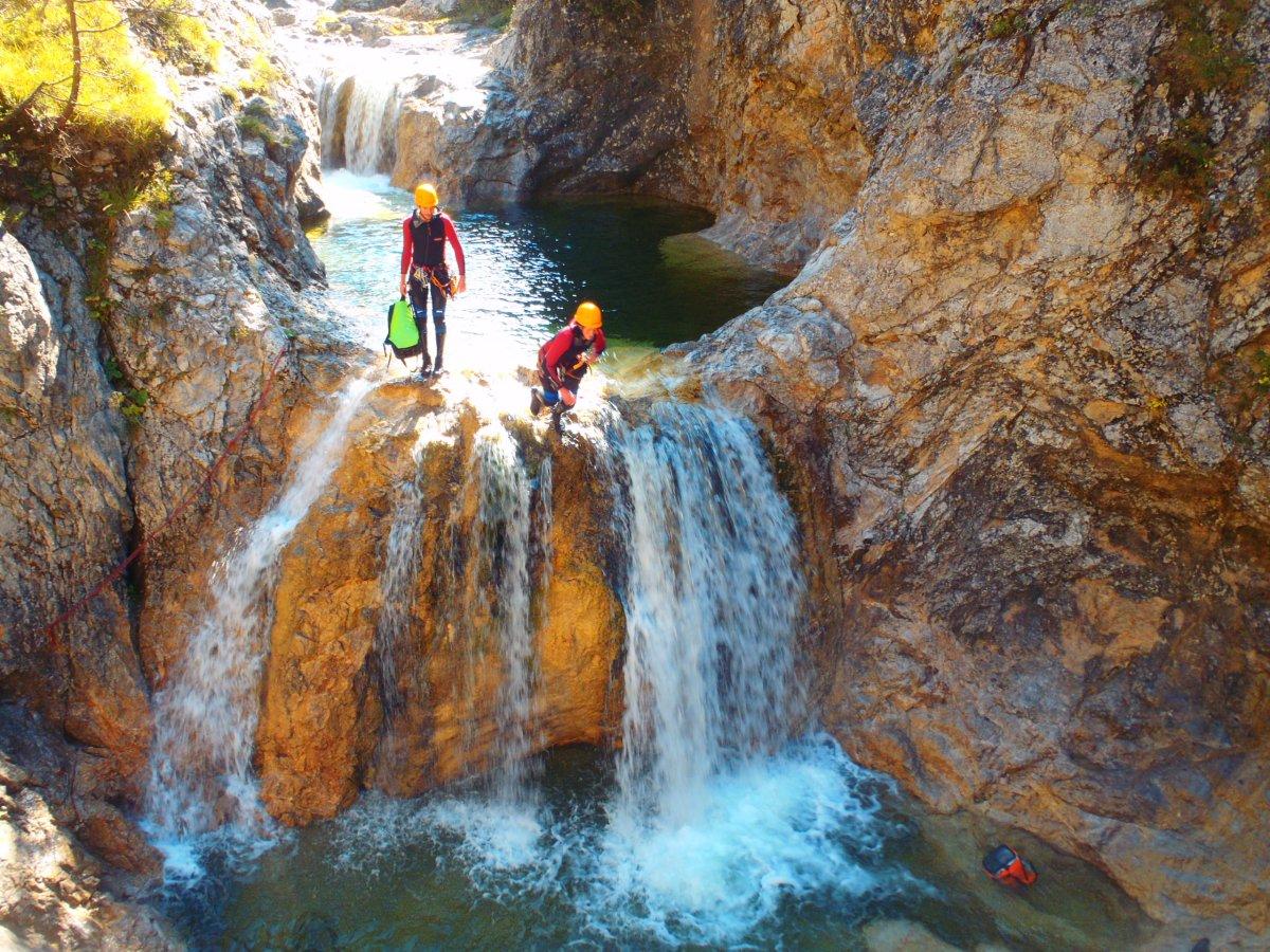 Klettergurt Canyoning : Canyoning im allgäu mit spirits of nature