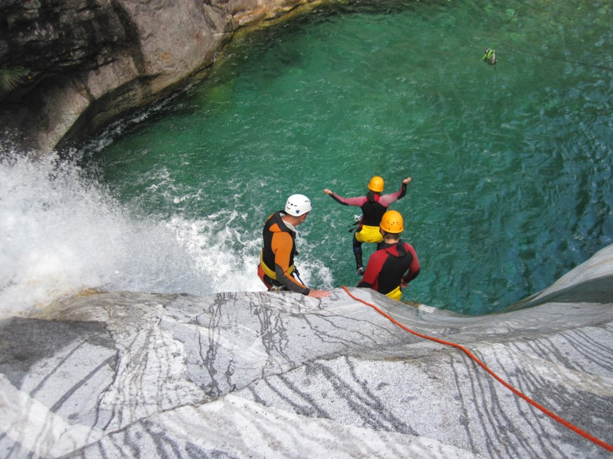 Klettergurt Canyoning : Canyoning in europa mit spirits of nature