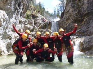 Canyoninggruppe