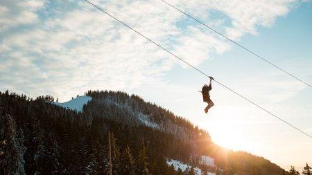 Schnell geht es runter mit dem AlpspitzKICK