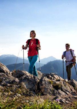 Sommer Wanderung an der Alpspitze