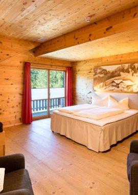 Willkommen in Ihrem Schlafzimmer - Lodge Edelsberg