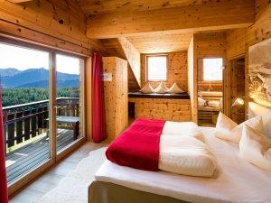Den Morgen mit Bergblick begrüßen - Lodge Säuling