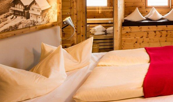 Schlafzimmer - Sportheim Böck