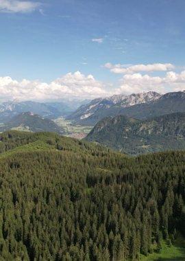 Aussicht auf die Allgäuer Berge von der Alpspitze