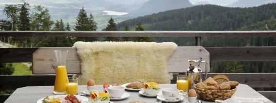 Mit diesem Ausblick lässt sich das Frühstück noch mehr genießen