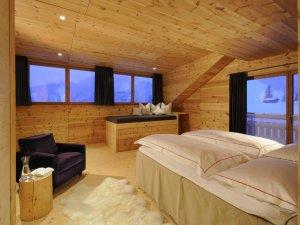Schlafzimmer Lodge Edelsberg