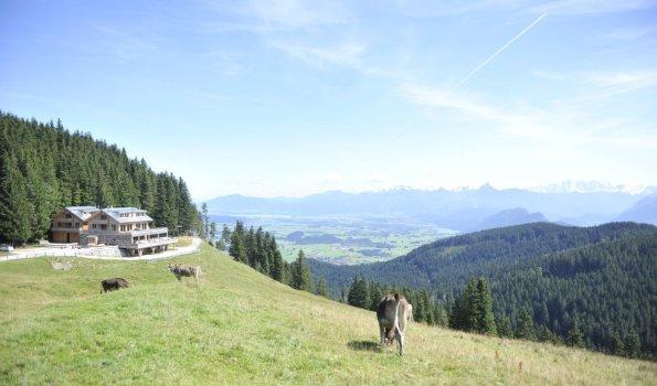 Lodge Urlaub mit Gipfelblick