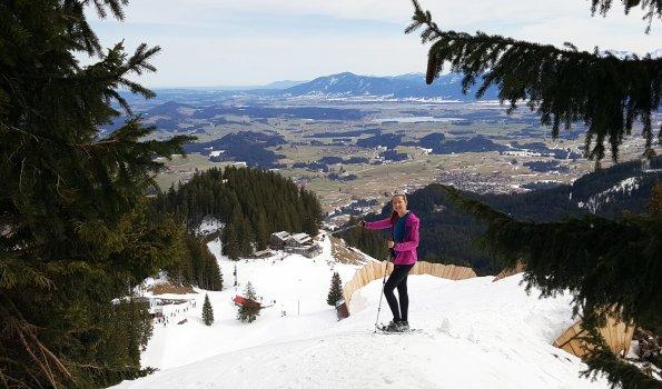 Schneeschuhwandern beim Sportheim Böck
