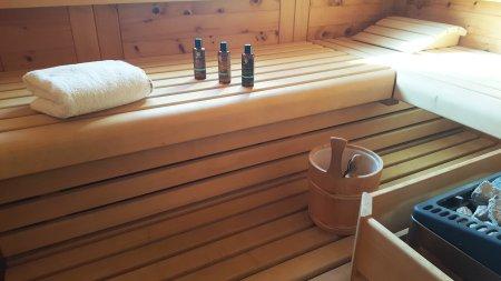 Private Sauna zum Entspannen - schöner kann man sich den Urlaub nicht vorstellen