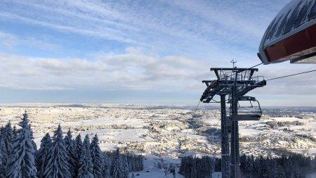 Alpspitzbahn im Winter