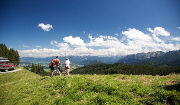 Wandern an der Alpspitze
