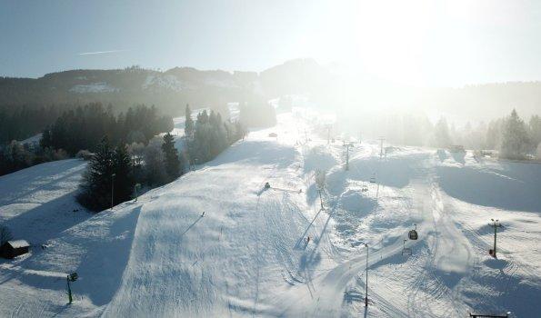 Winterstimmung an der Alpspitze