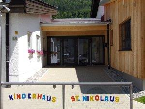 Eingang des Kinderhaus St. Nikolaus