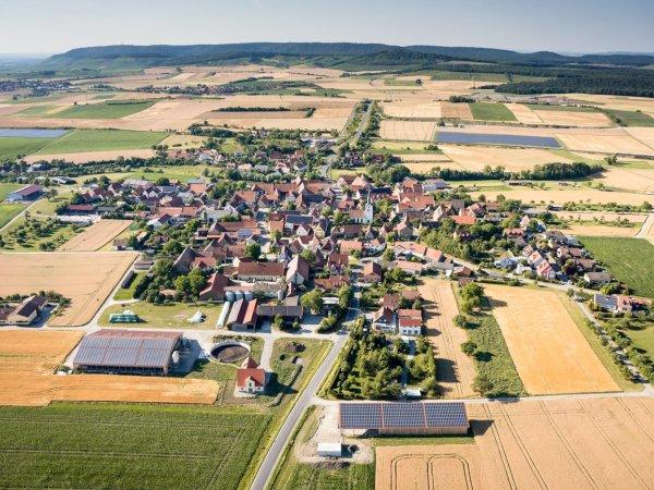 Luftaufnahme Hellmitzheim
