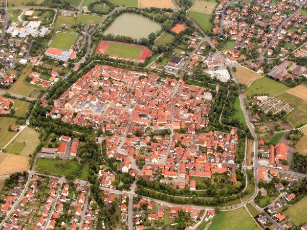 Luftaufnahme Iphofen