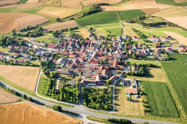 Luftaufnahme von Possenheim