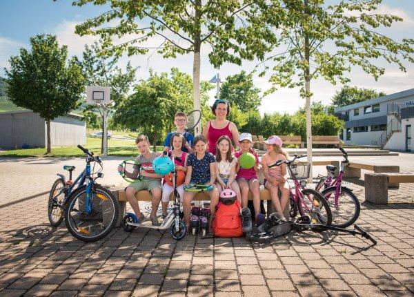 Kinder in der Ferienbetreuung