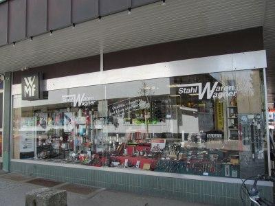 unser Schaufenster in der Weststraße