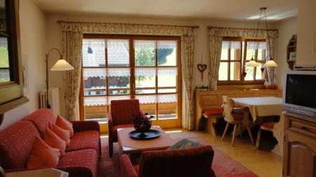 Ferienwohnung- Sipplinger Wohnzimmer