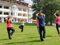 Yoga im Stillachhaus