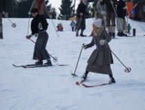 Historische Skifahrer in Fischen - mit Annette Krause 1