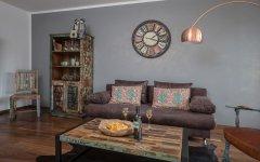 Wohnzimmer mit Vintage-Charme