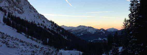 Nebelhorn Piste
