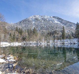 Christlessee & Spielmansau im Winter