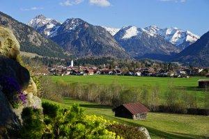 Oberstdorf im Frühling