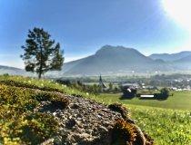 Oberhalb von Bihlerdorf