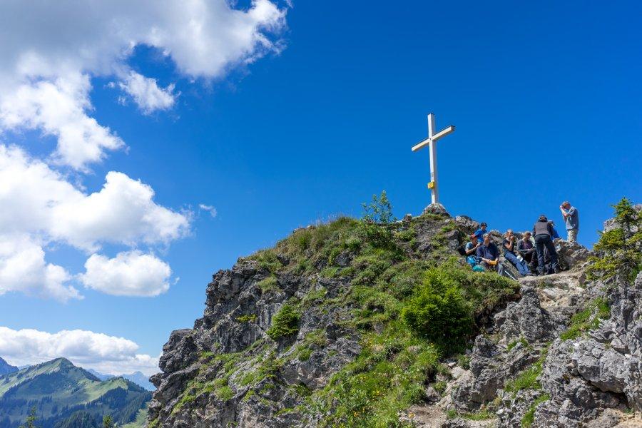 Gipfelkreuz des Imberger Horns