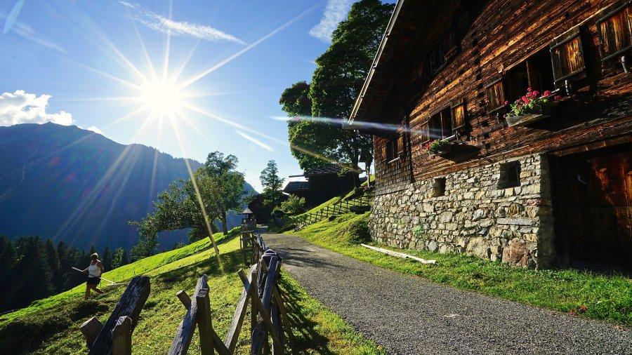 Sonnentage in Gerstruben
