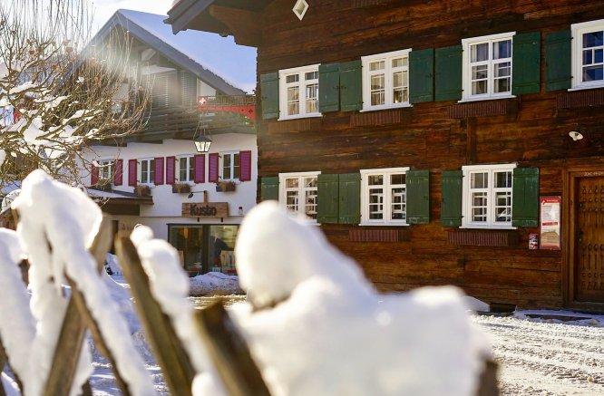 Heimatmuseum im Winter