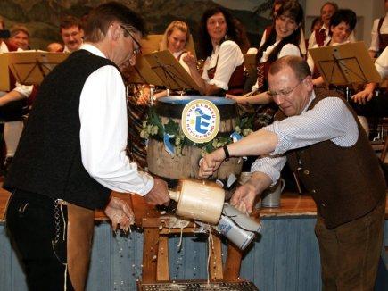 Bockbieranstich Wertach