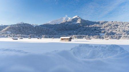 Wintermorgen in Oberstdorf