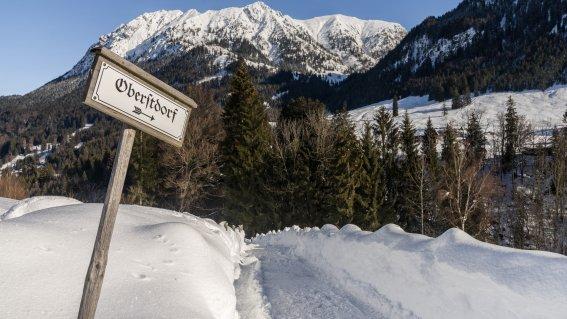 Winterliche Dorfromantik
