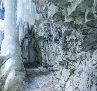 Breitachklamm Winter
