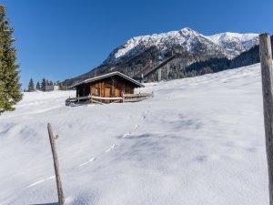 Winterstimmung an der Skisprungschanze