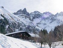 Einödsbach im Winter