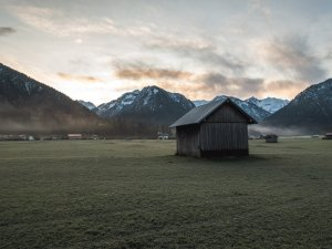 Oberstdorfer Novembermorgen