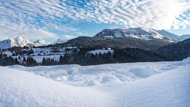 Winterliches Panorama